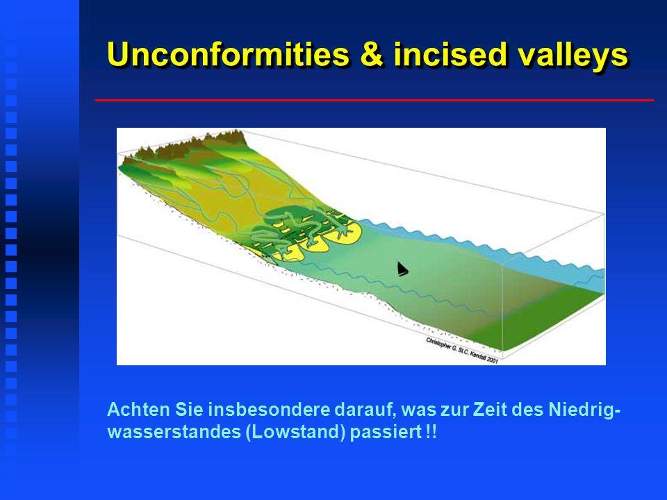 Unconformities & incised valleys
