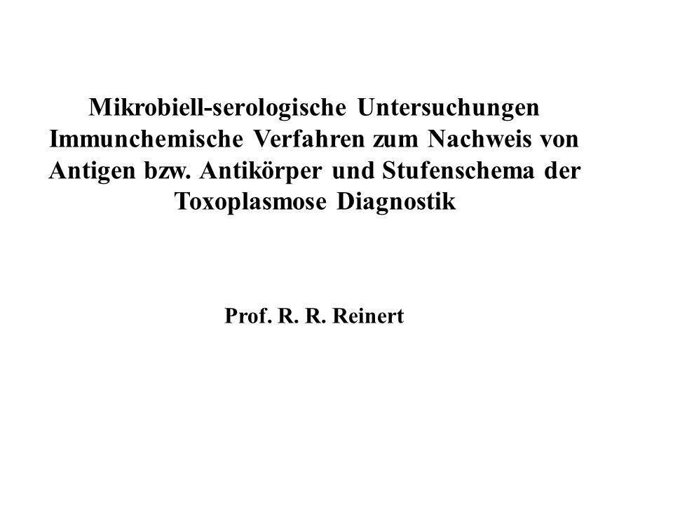Mikrobiell-serologische Untersuchungen
