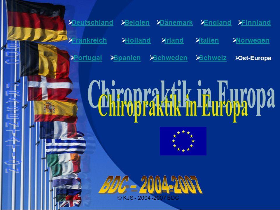 Chiropraktik in Europa