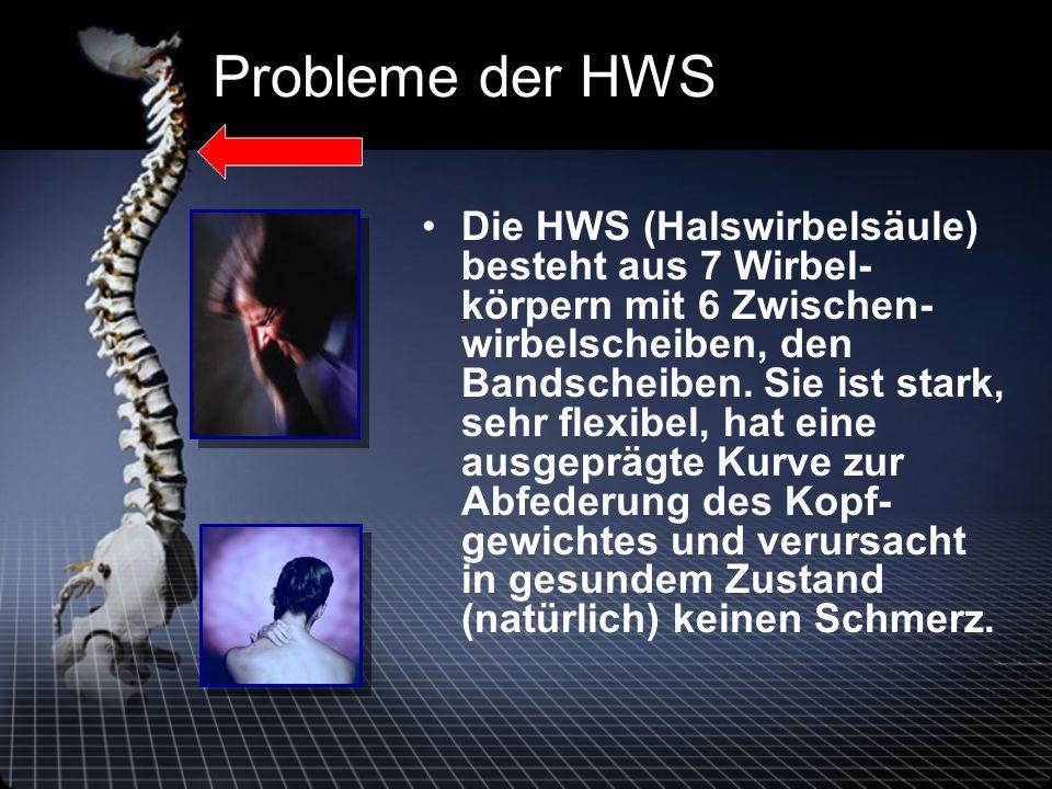 Probleme der HWS