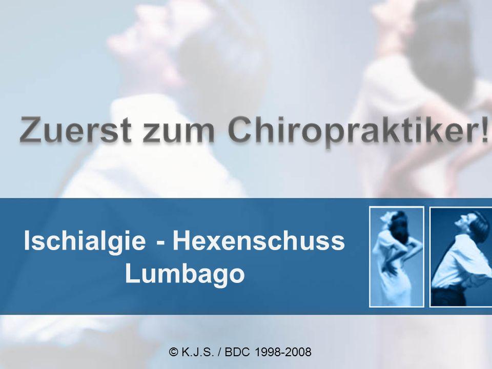 Ischialgie - Hexenschuss Lumbago