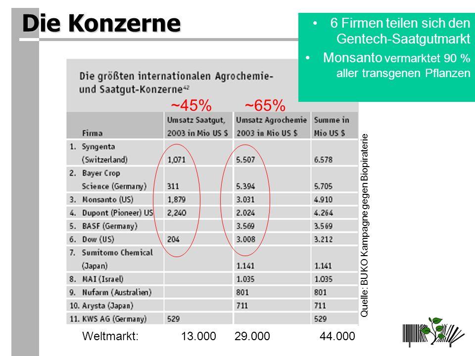 Quelle: BUKO Kampagne gegen Biopiraterie