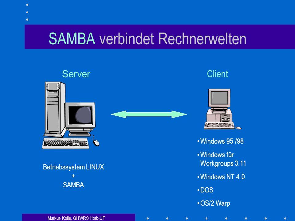 SAMBA verbindet Rechnerwelten