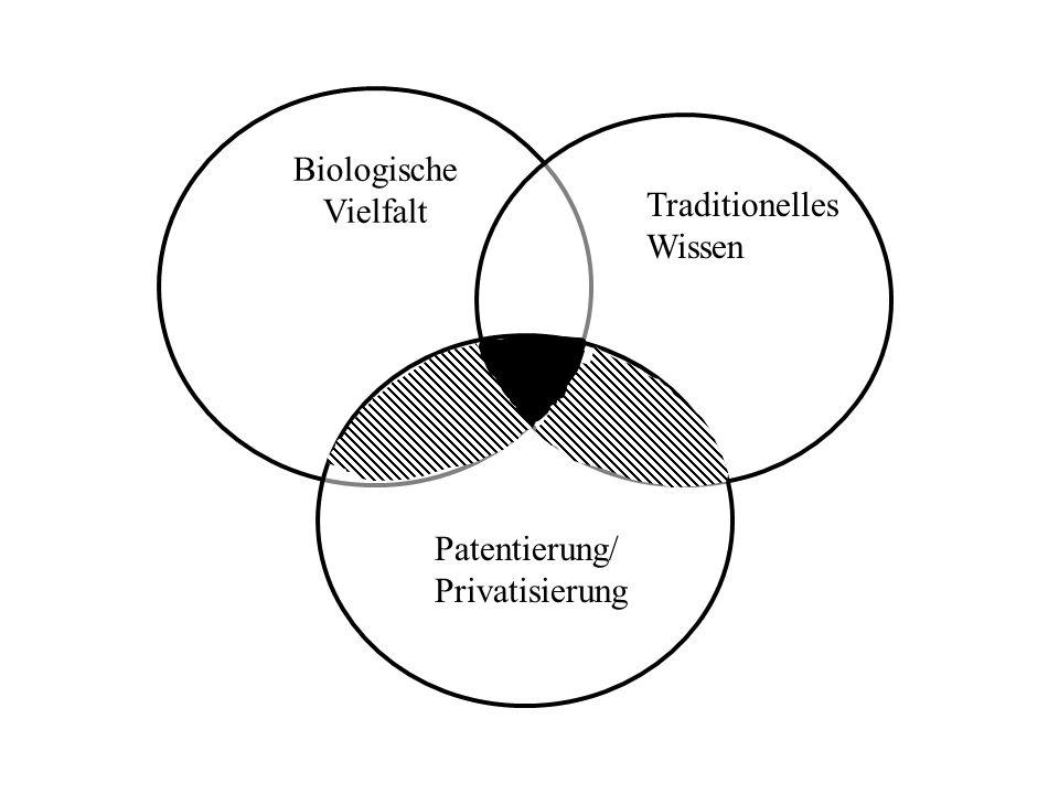 Biologische Vielfalt Traditionelles Wissen Patentierung/Privatisierung
