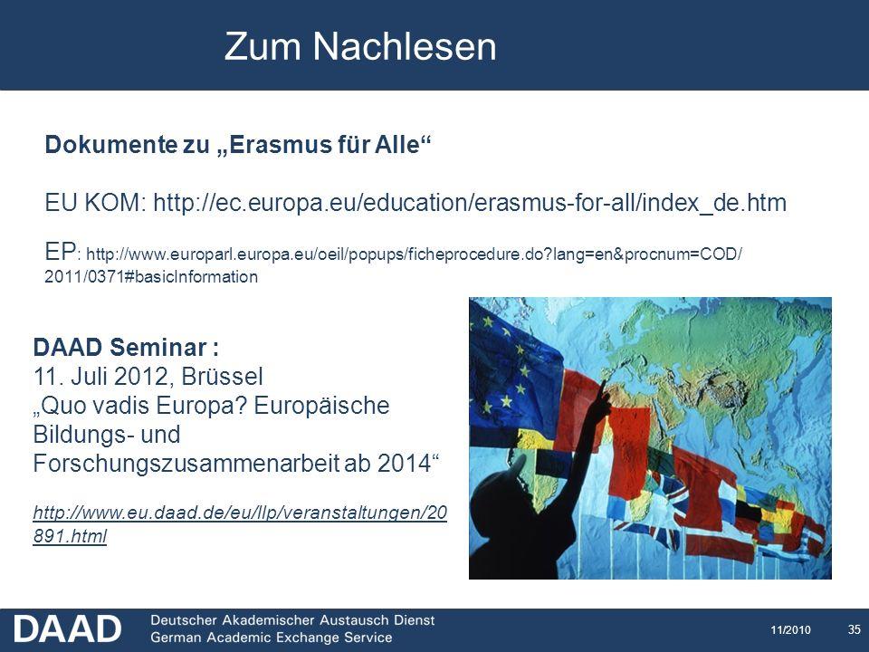 Zum Nachlesen Erasmus für Alle – Dokumente THANK YOU