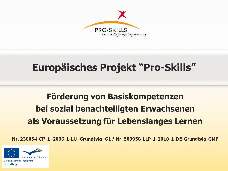 Europäisches Projekt Pro-Skills