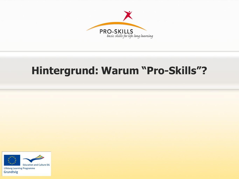 Hintergrund: Warum Pro-Skills