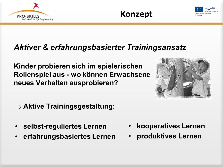 Aktiver & erfahrungsbasierter Trainingsansatz
