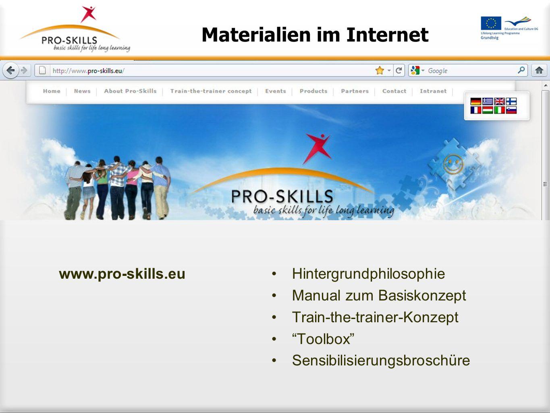 Materialien im Internet