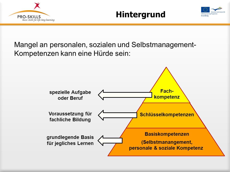 Schlüsselkompetenzen personale & soziale Kompetenz