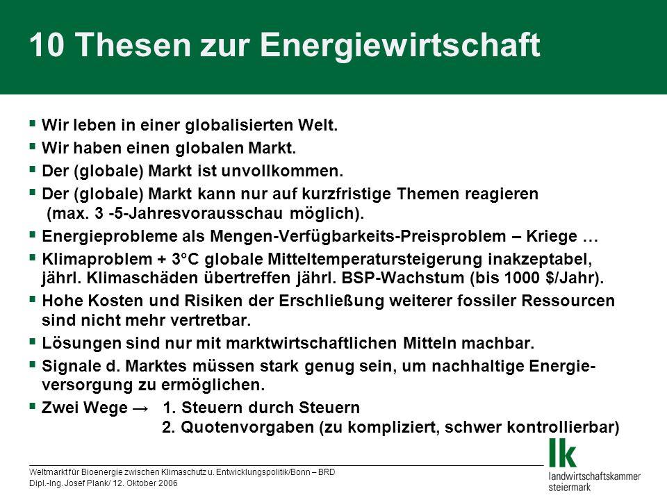 10 Thesen zur Energiewirtschaft
