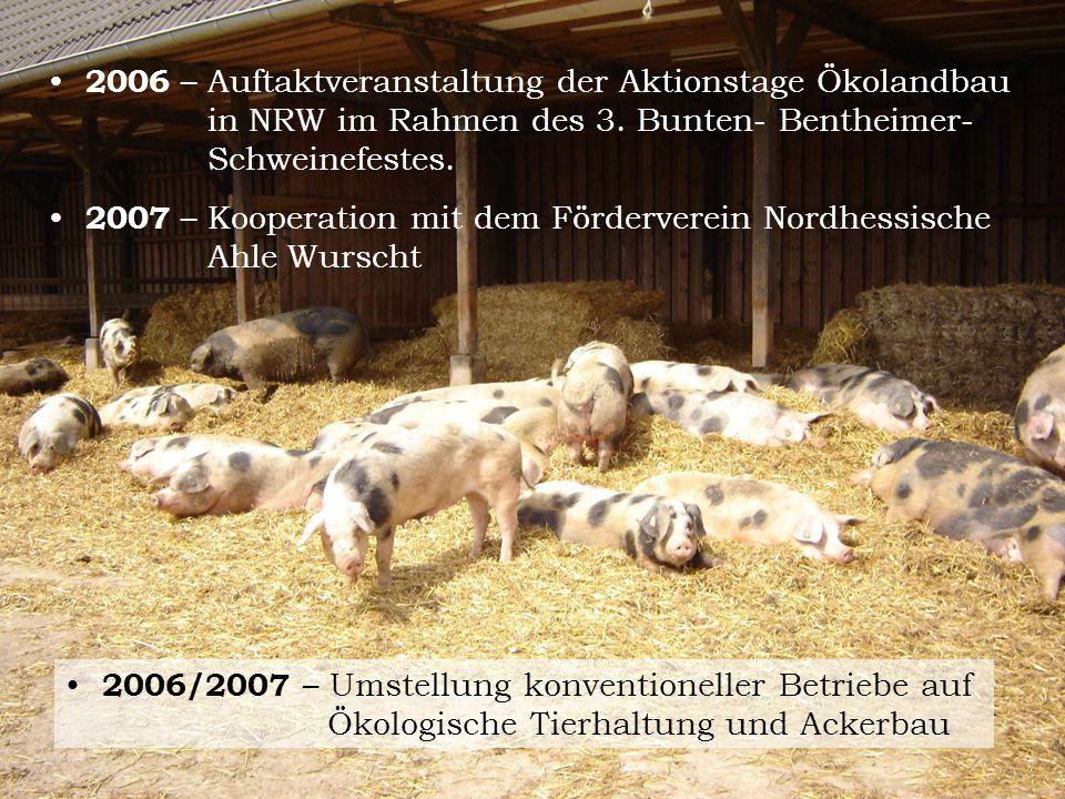 2006 – Auftaktveranstaltung der Aktionstage Ökolandbau