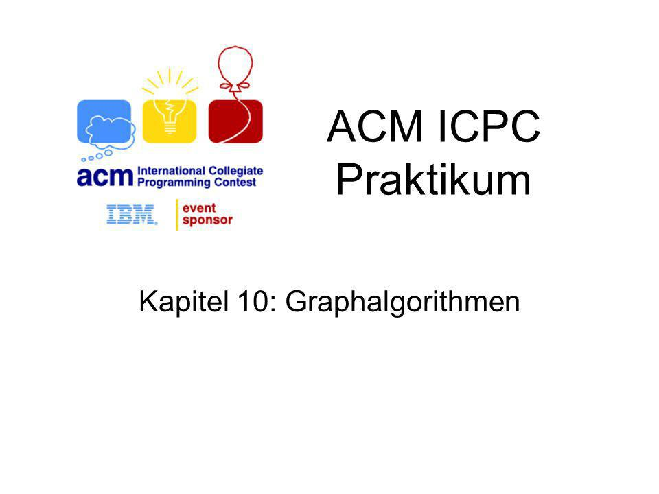 Kapitel 10: Graphalgorithmen