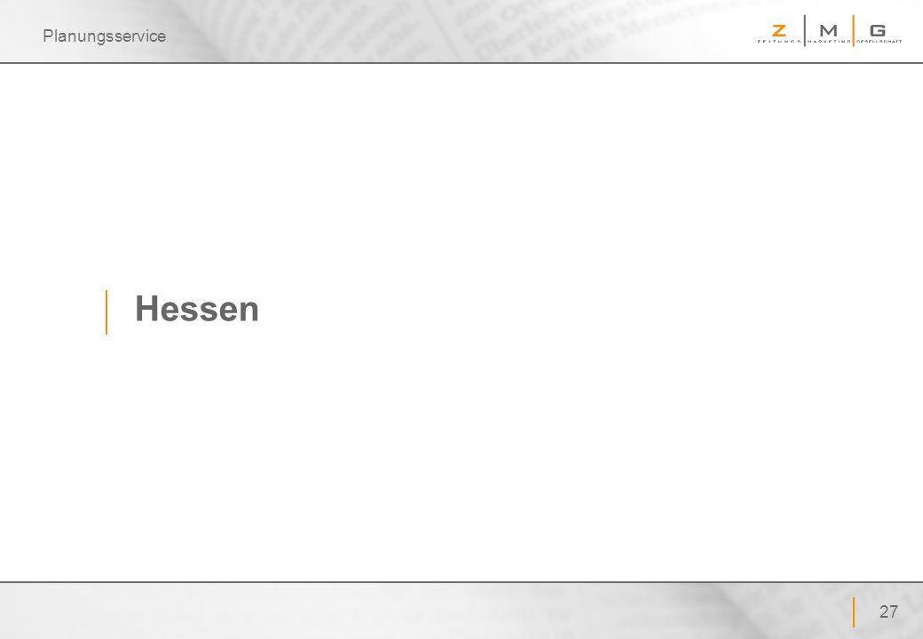 Planungsservice Hessen