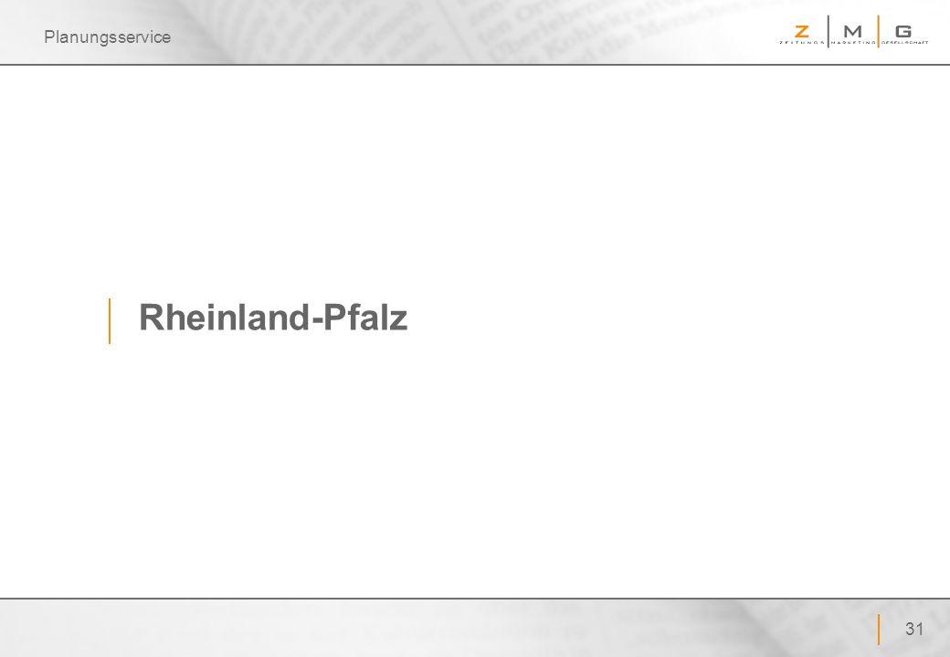 Planungsservice Rheinland-Pfalz