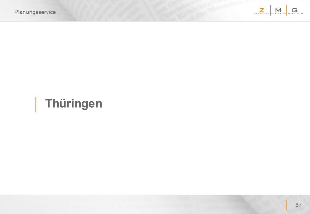 Planungsservice Thüringen