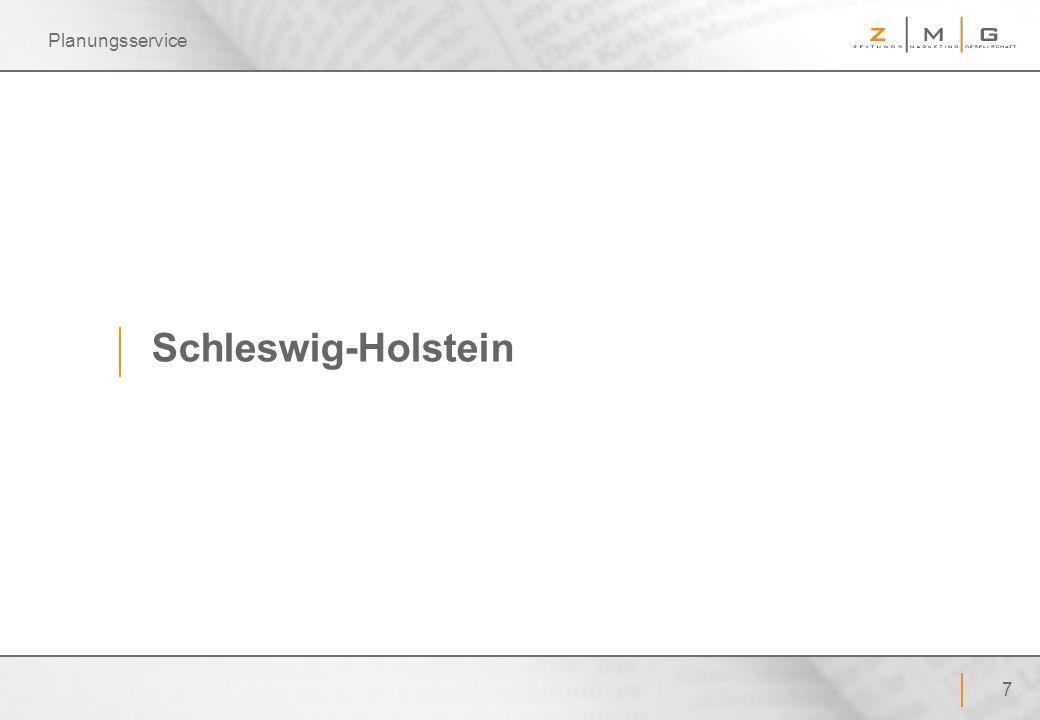 Planungsservice Schleswig-Holstein