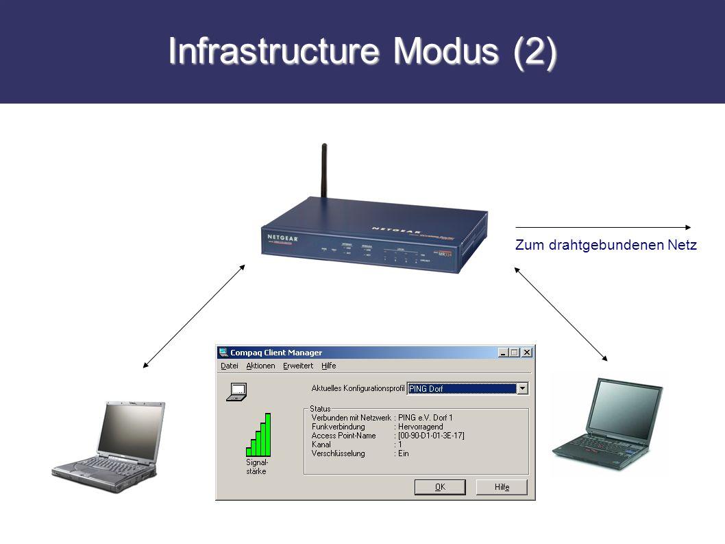 Infrastructure Modus (2)