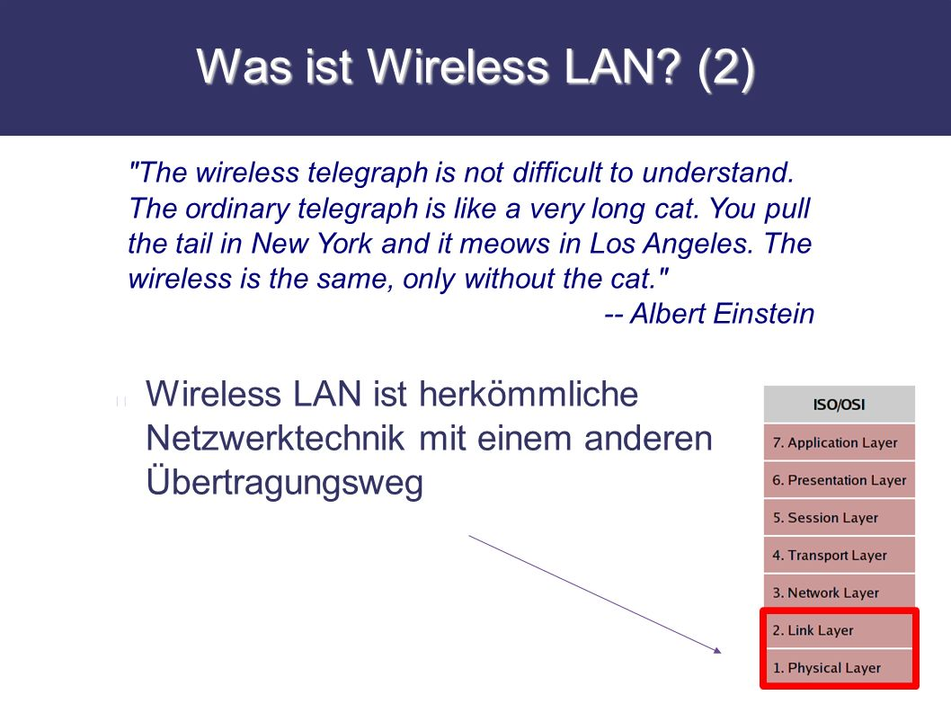 Was ist Wireless LAN (2)