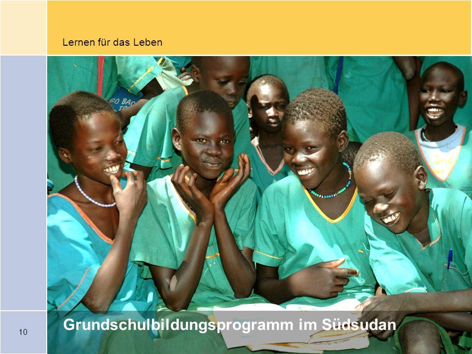 Grundschulbildungsprogramm im Südsudan