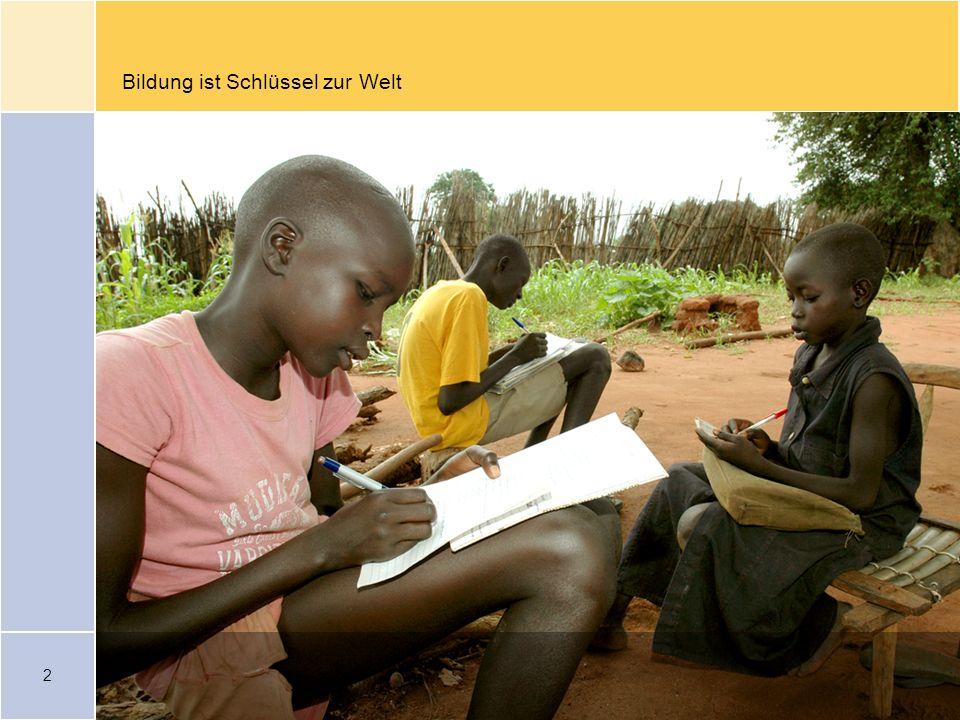Bildung ist Schlüssel zur Welt