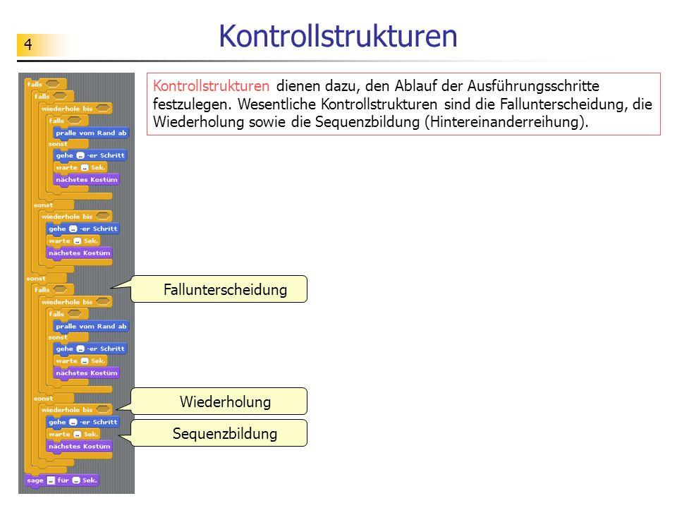 Kontrollstrukturen