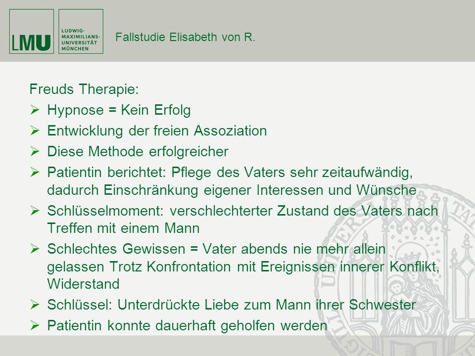 Fallstudie Elisabeth von R.