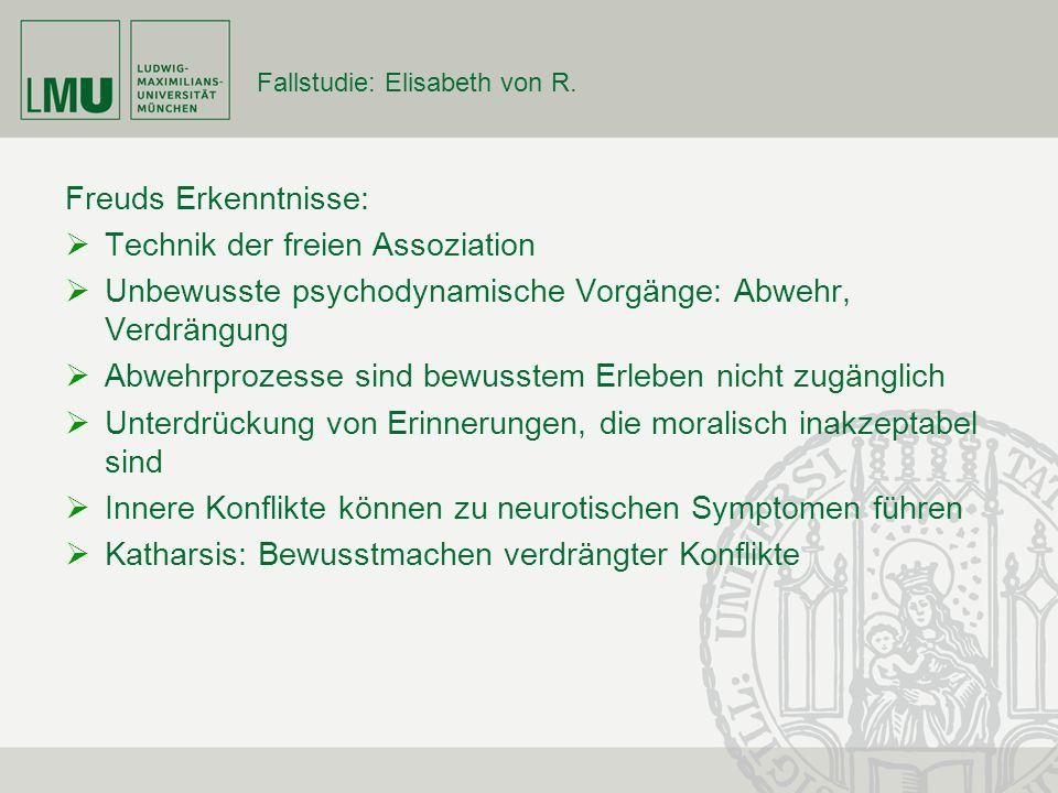 Fallstudie: Elisabeth von R.