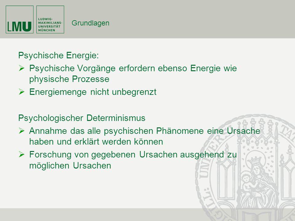 Psychische Vorgänge erfordern ebenso Energie wie physische Prozesse