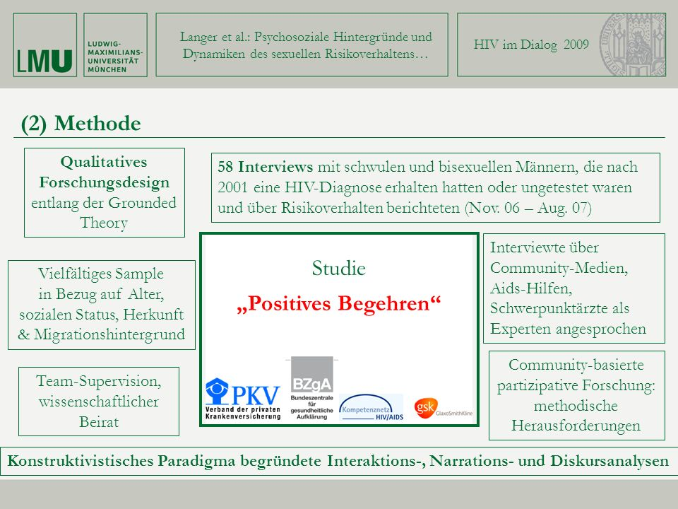 "(2) Methode Studie ""Positives Begehren"