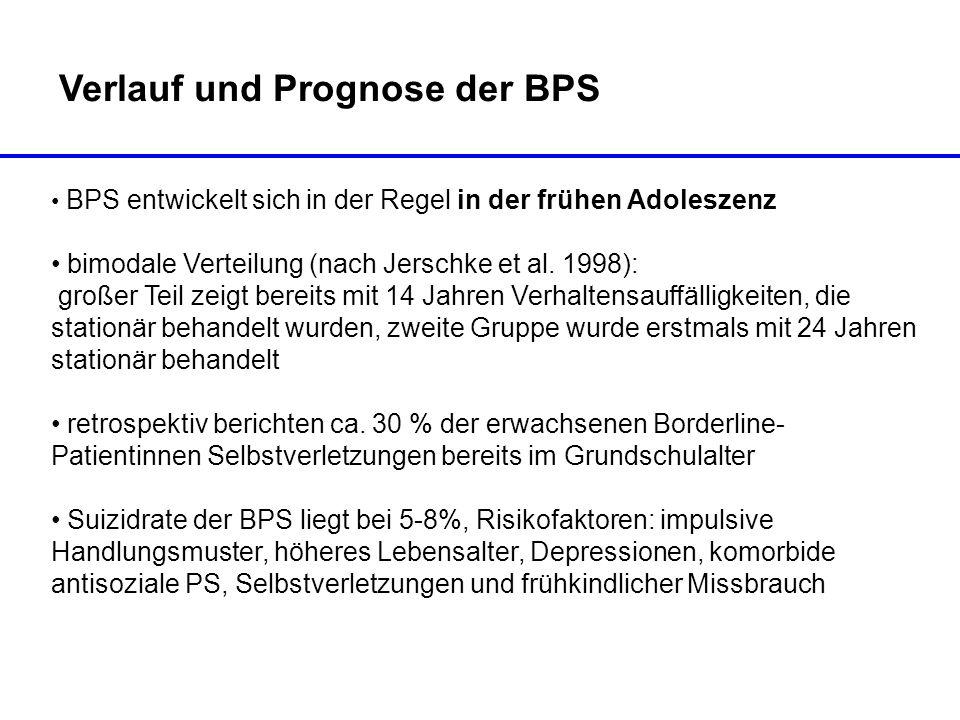 Verlauf und Prognose der BPS