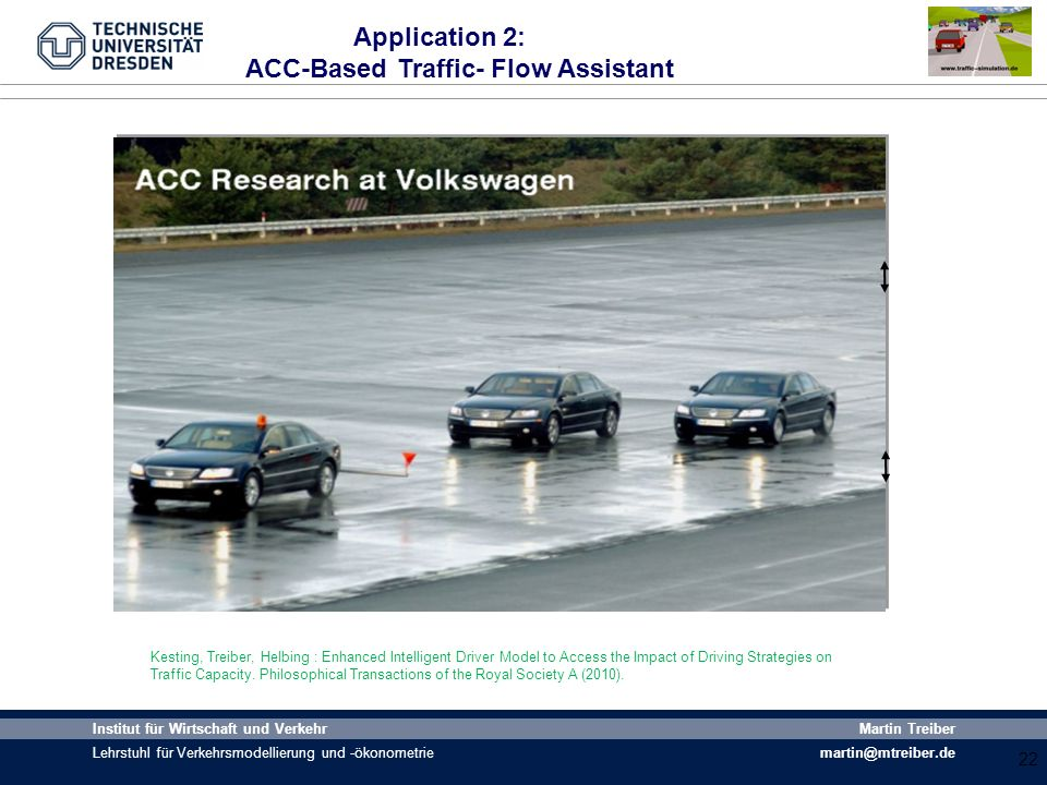 ACC-Based Traffic- Flow Assistant