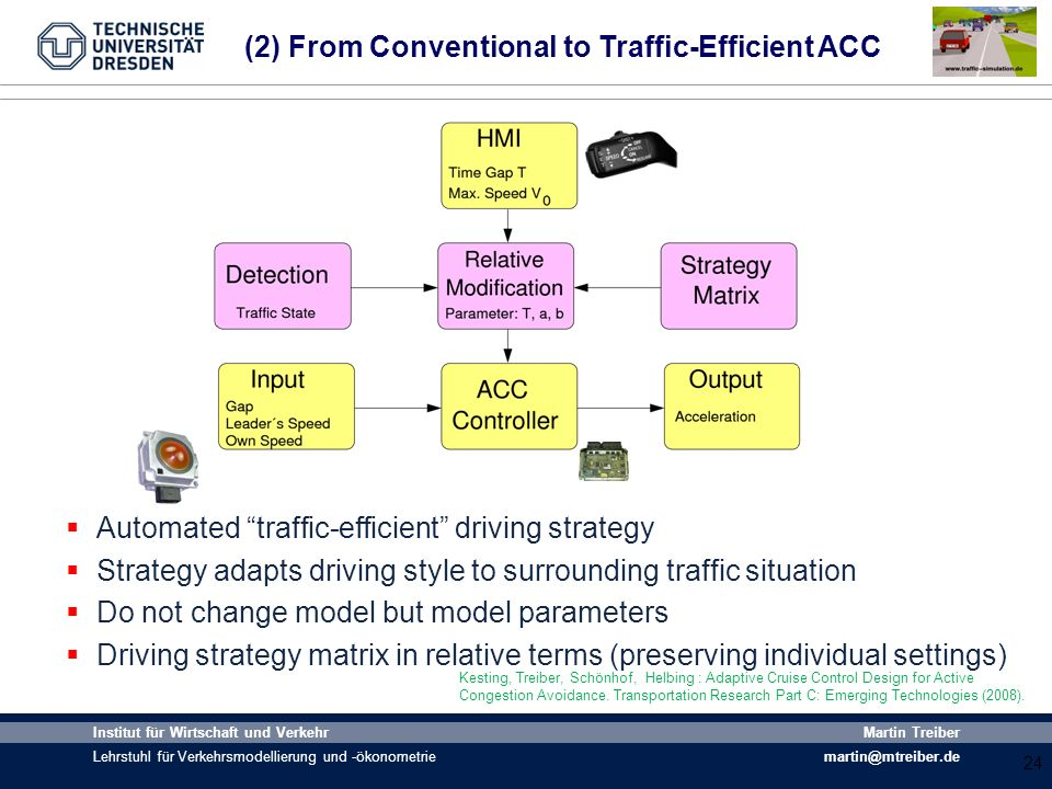 (2) From Conventional to Traffic-Efficient ACC
