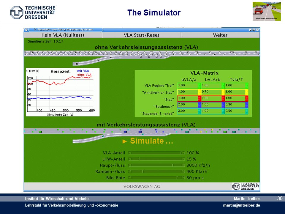 The Simulator Simulate …