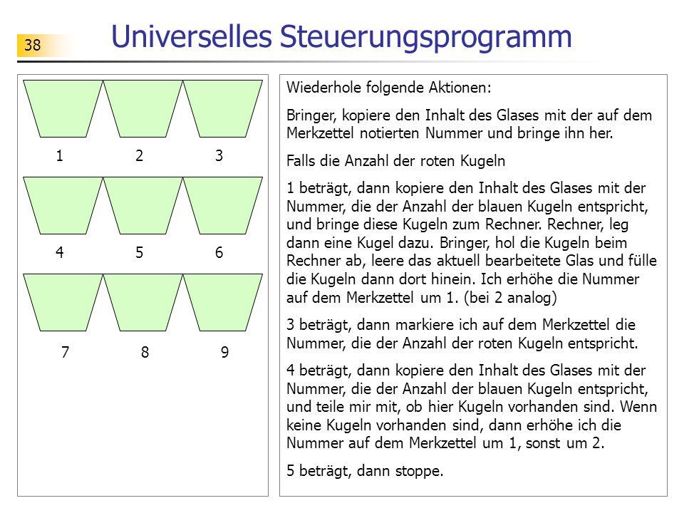 Universelles Steuerungsprogramm