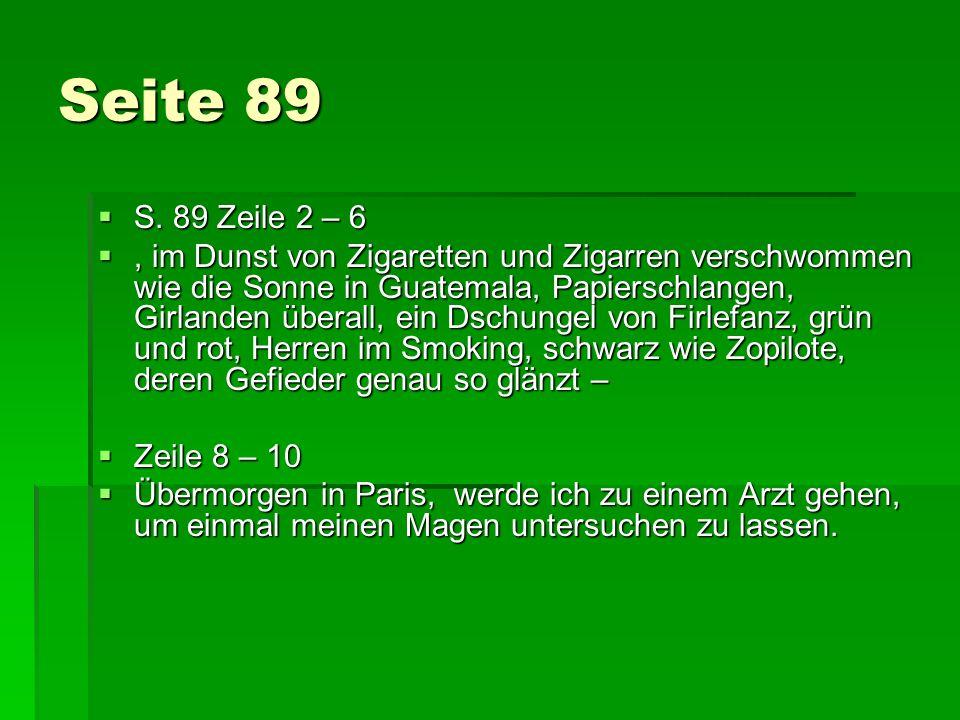 Seite 89 S. 89 Zeile 2 – 6.