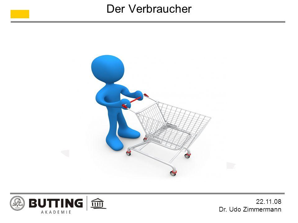 Der Verbraucher