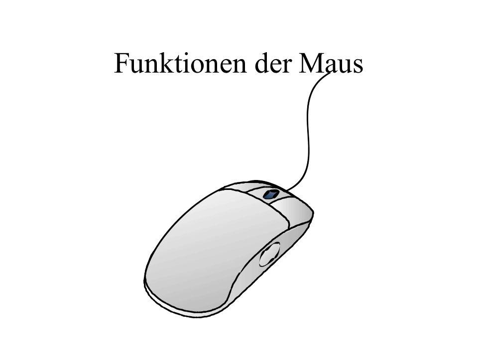 Funktionen der Maus