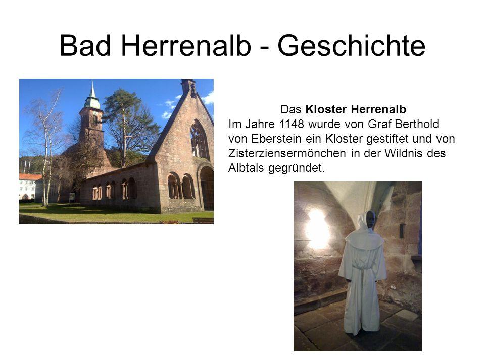 Bad Herrenalb - Geschichte