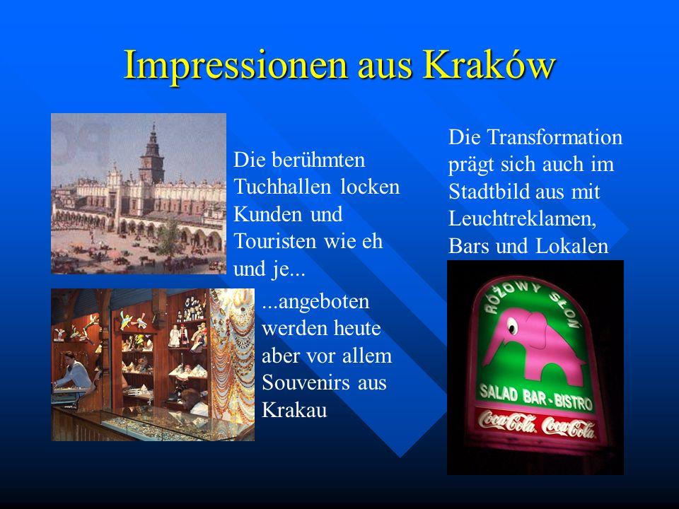 Impressionen aus Kraków