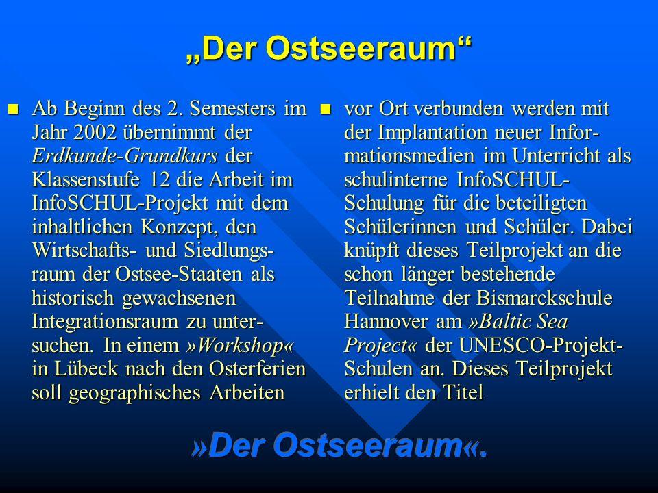 """""""Der Ostseeraum »Der Ostseeraum«."""