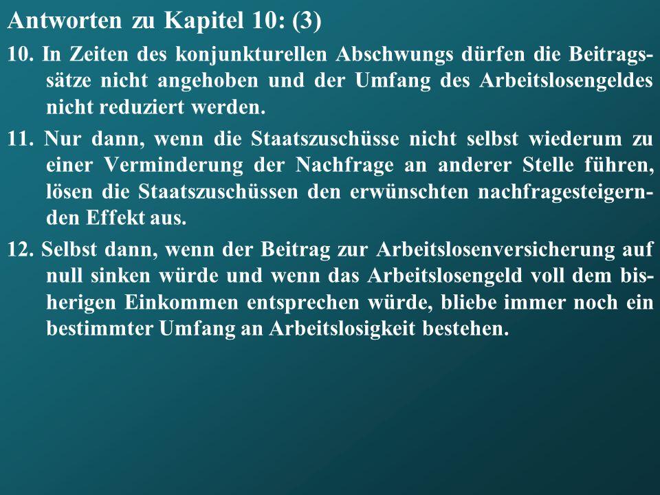 Antworten zu Kapitel 10: (3)