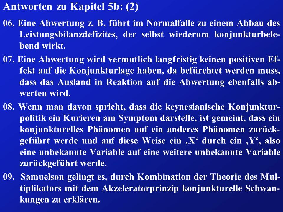 Antworten zu Kapitel 5b: (2)