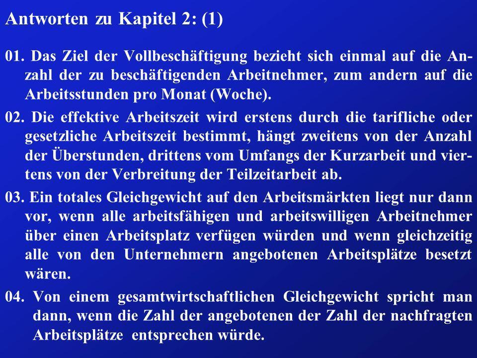 Antworten zu Kapitel 2: (1)