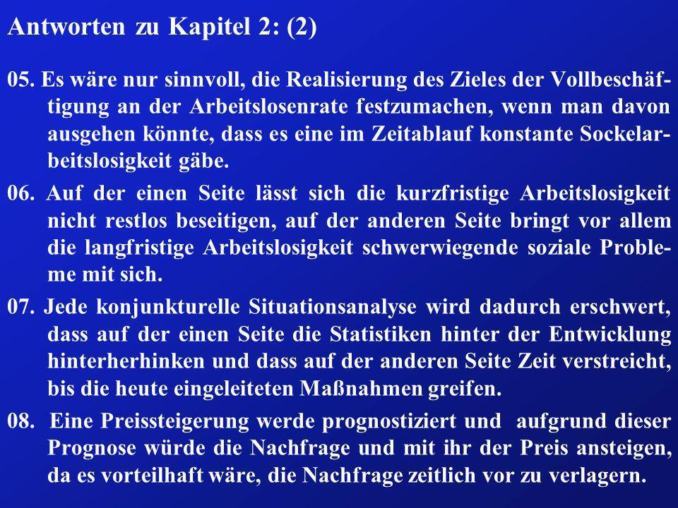 Antworten zu Kapitel 2: (2)
