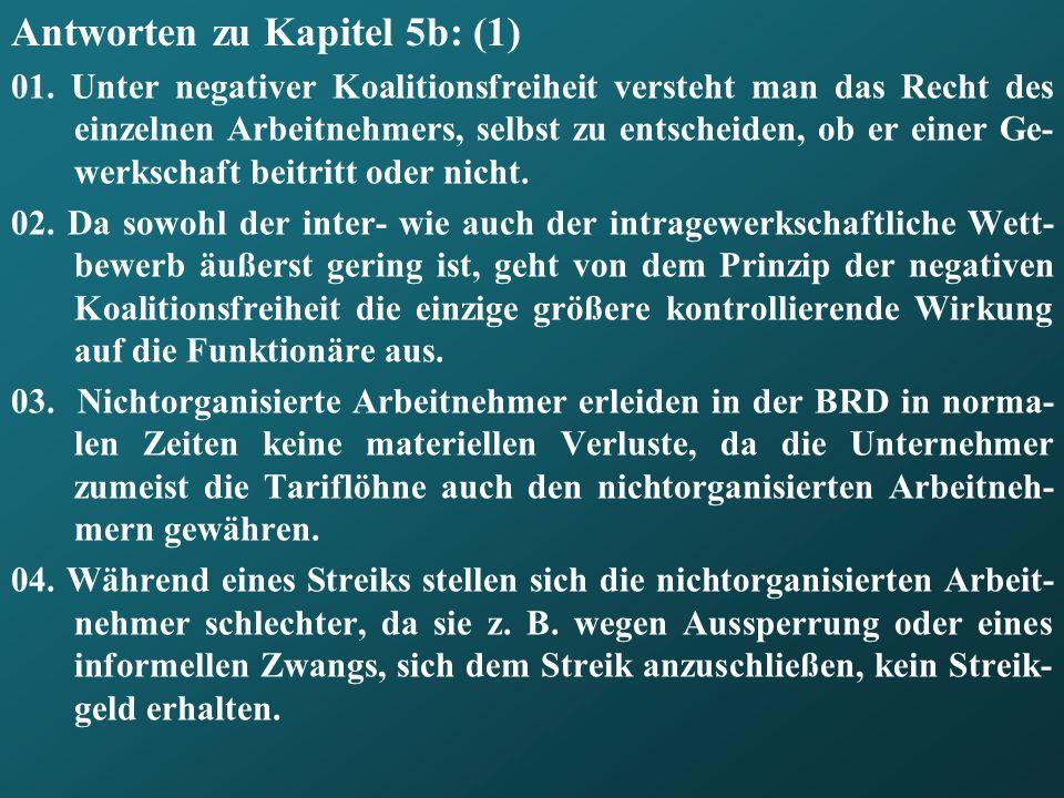 Antworten zu Kapitel 5b: (1)