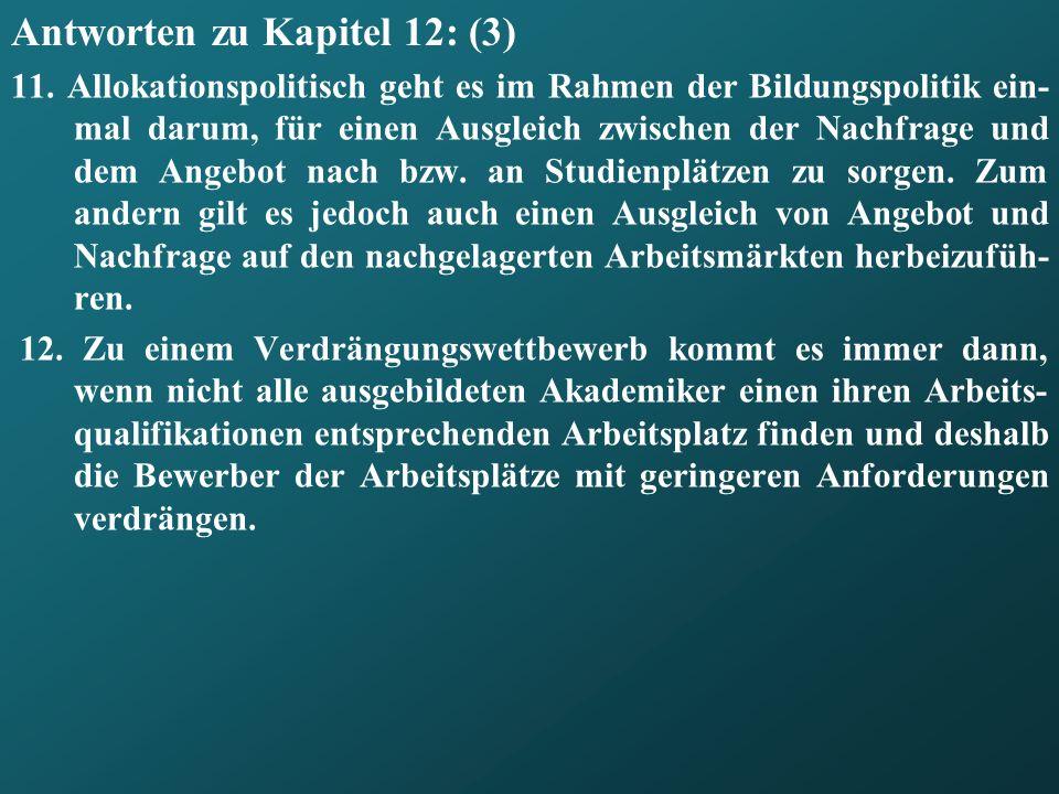 Antworten zu Kapitel 12: (3)