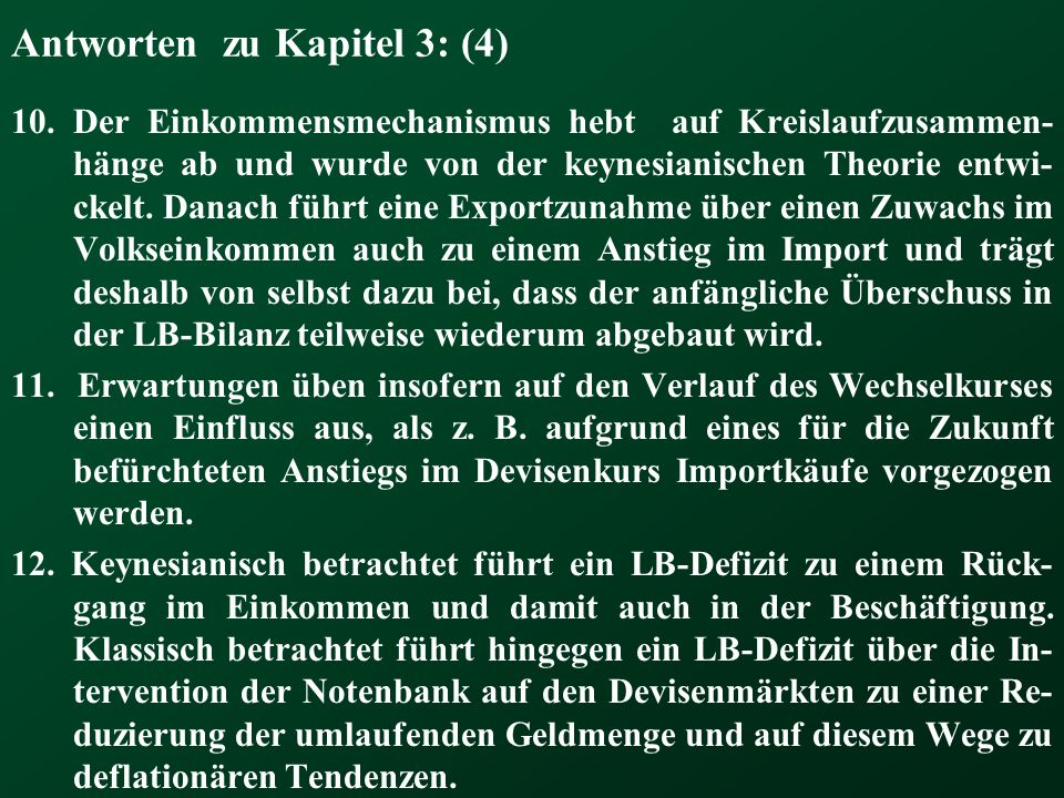Antworten zu Kapitel 3: (4)