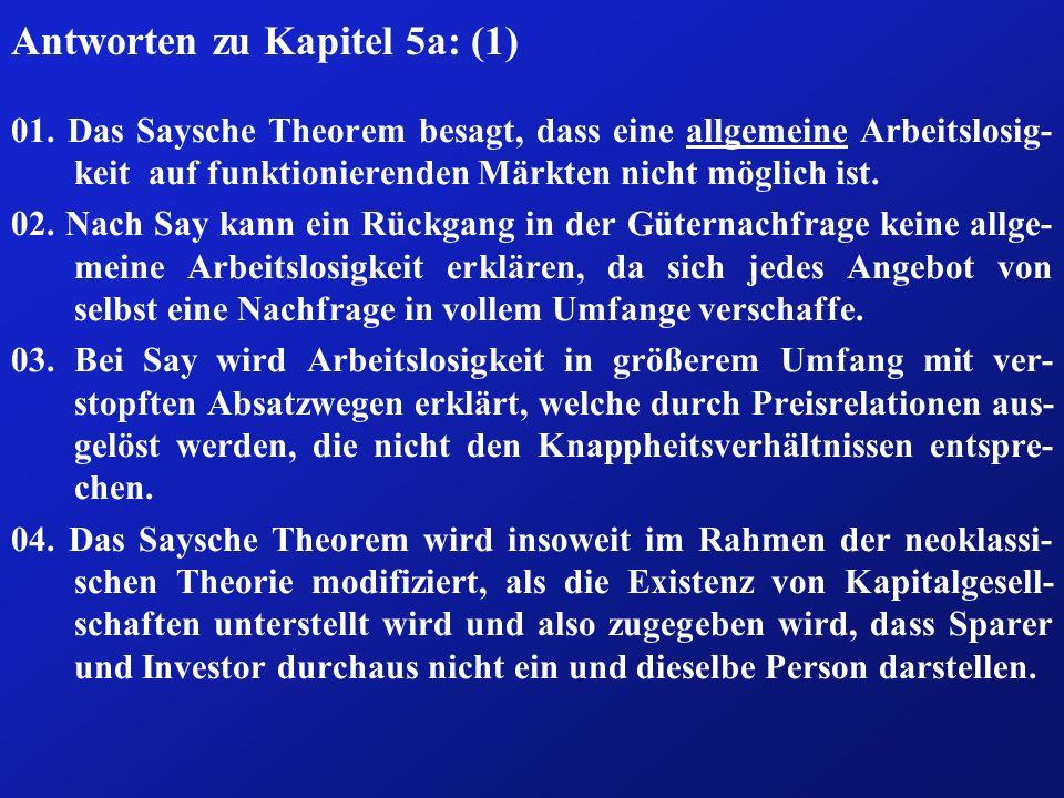 Antworten zu Kapitel 5a: (1)