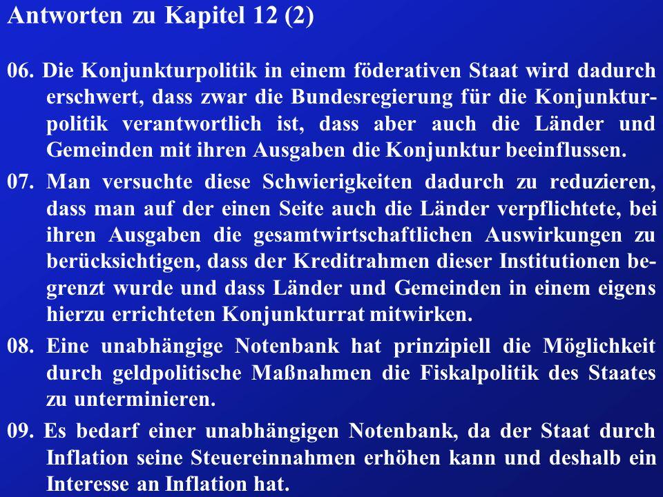 Antworten zu Kapitel 12 (2)